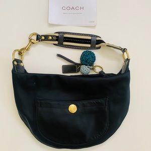 Coach Vintage Hobo Shoulderbag Purse Handbag Black